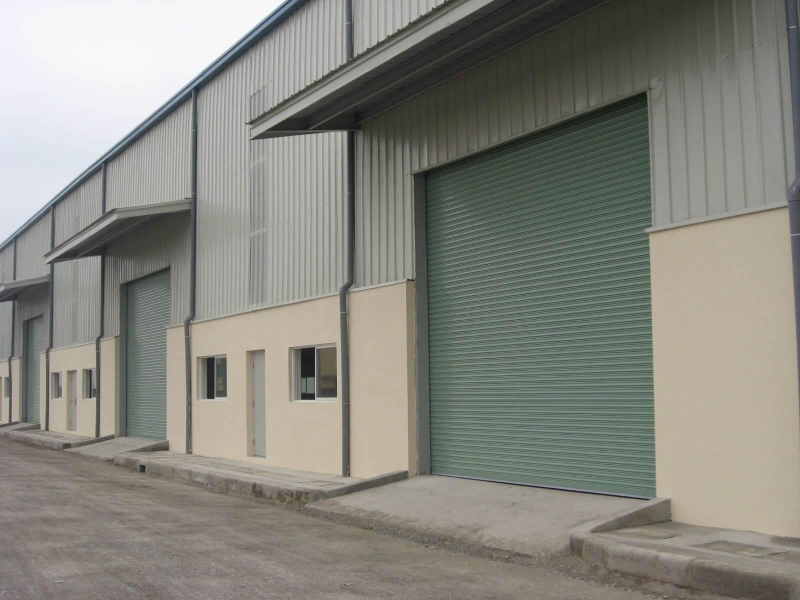 Lắp đặt cửa cuốn công nghệ Đức tại khu công nghiệp Bình Chuẩn