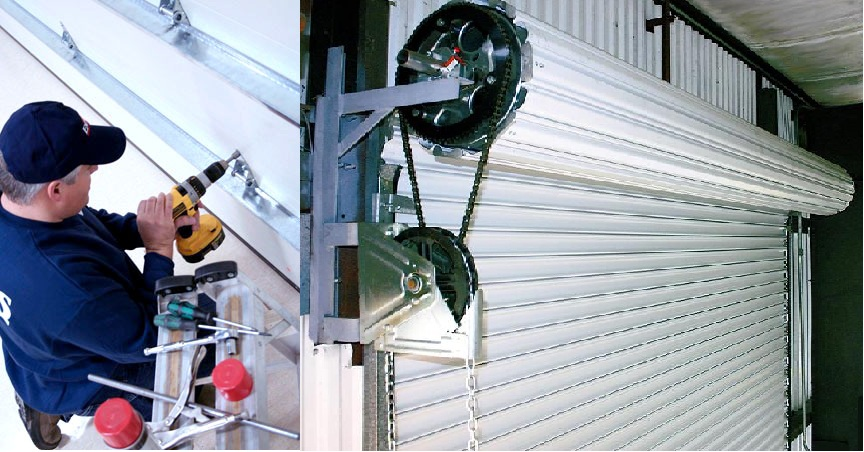 Lắp đặt cửa cuốn điện tại KCN Đại Đăng